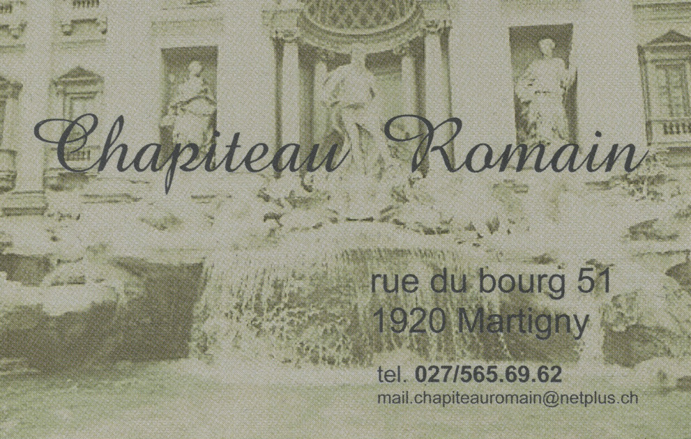 logo chapiteau romain