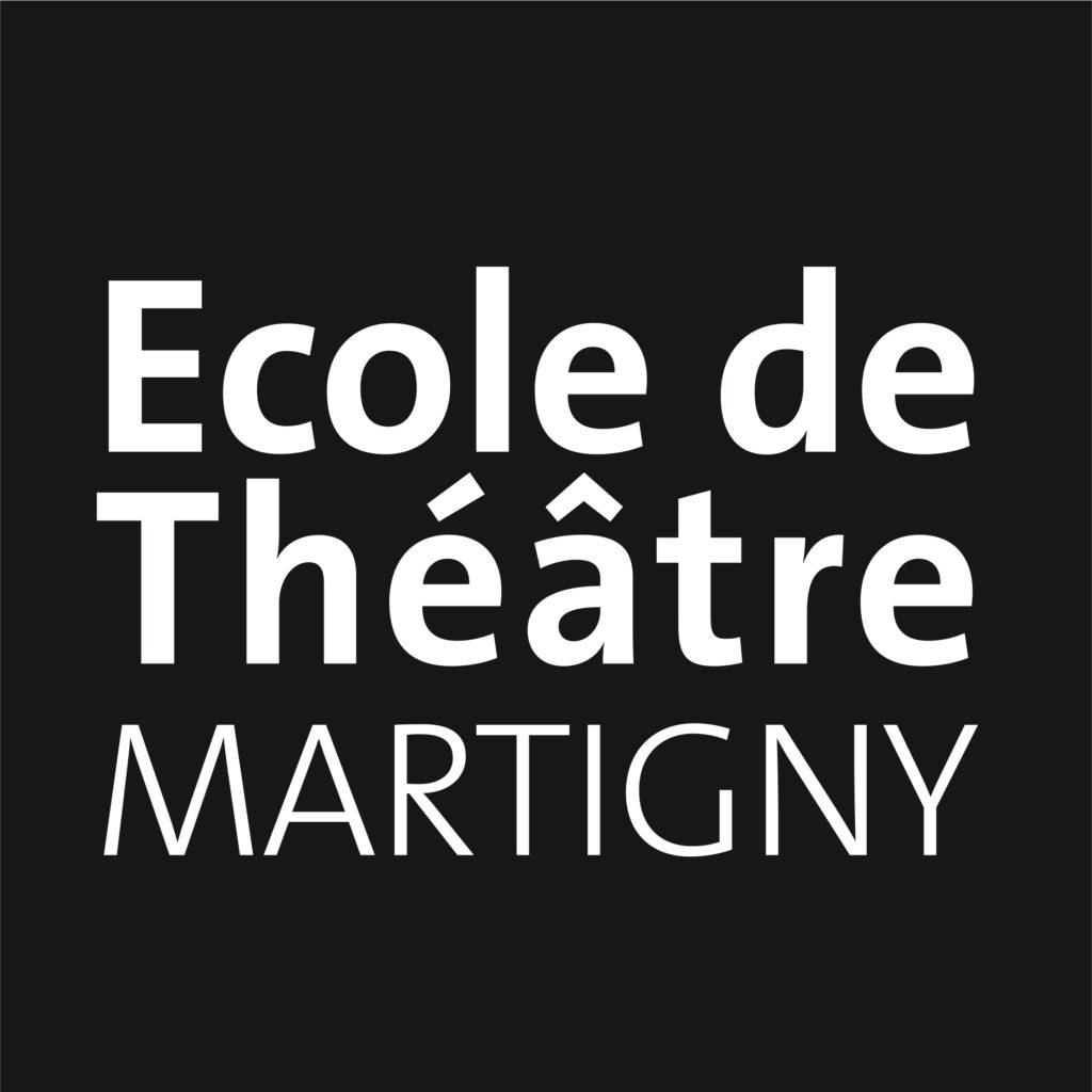 logo ecole de theatre martigny