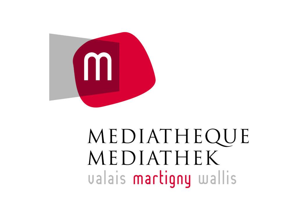 logo mediatheque martigny