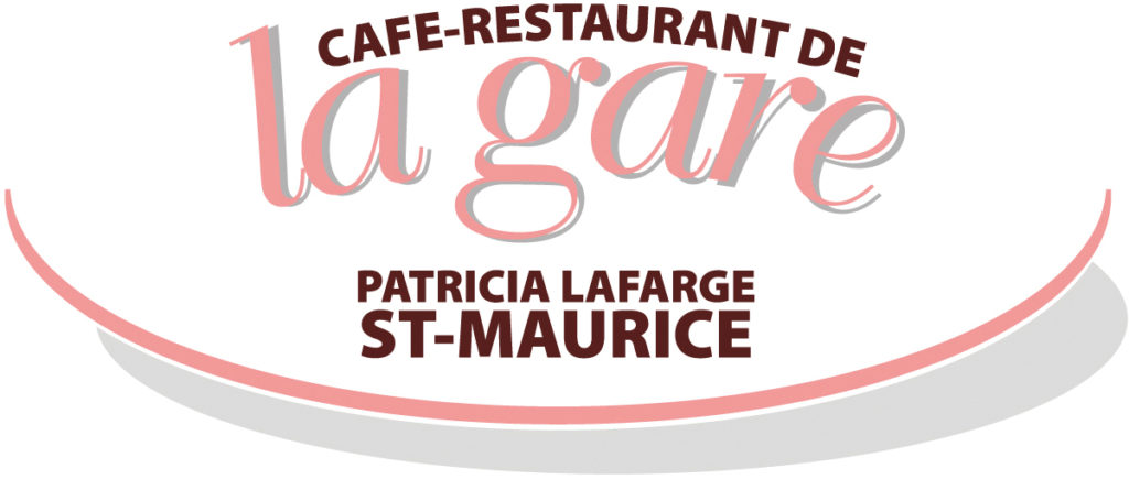 Logo café restaurant la gare