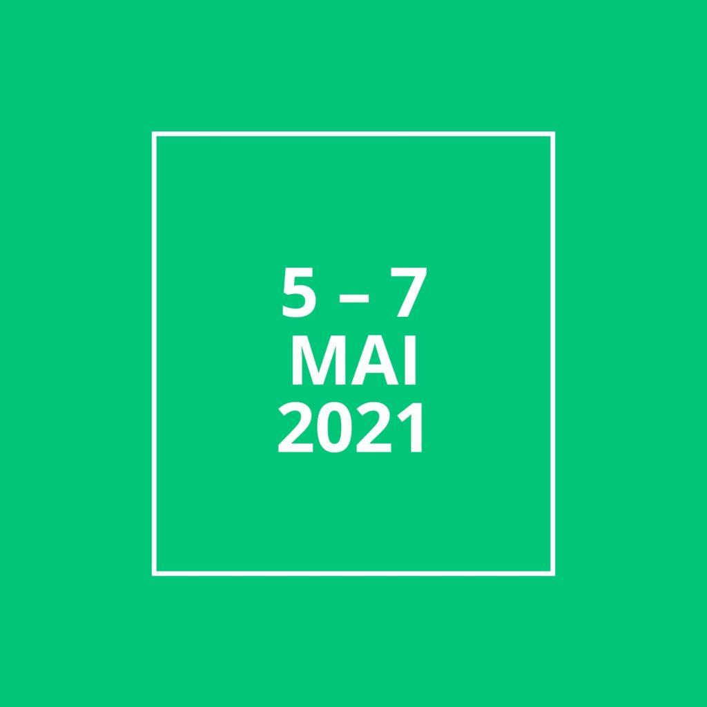 5 - 7 mai 2021